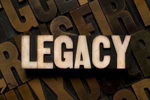 The word Legacy illustrates the link between a will and a bequest. The anatomy of a bequest