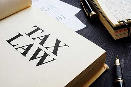 An image of a Tax Law book to go with a post on the SECURE Act