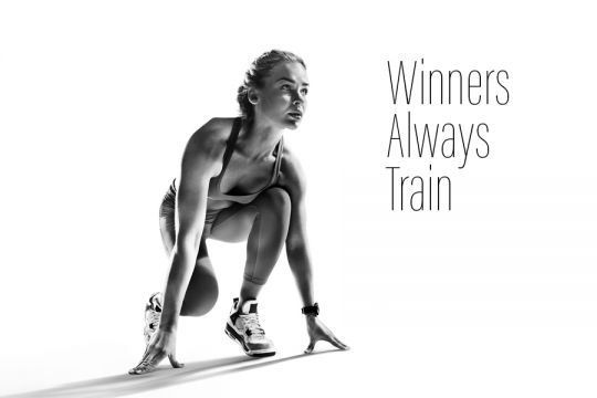 Winners Always Train