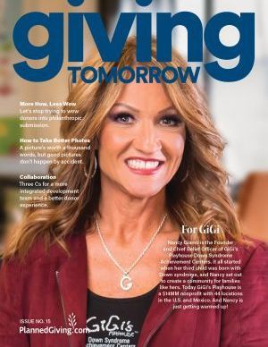 Giving Tomorrow Issue 15 2020