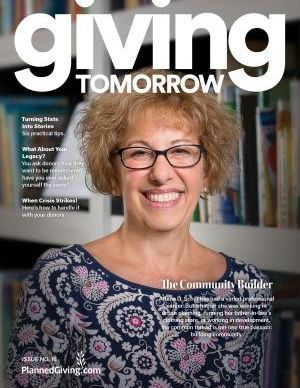 Giving Tomorrow Issue 16 2020