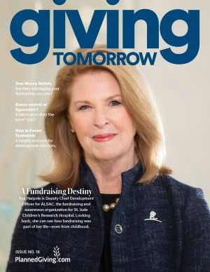 Giving Tomorrow Issue 18 2020
