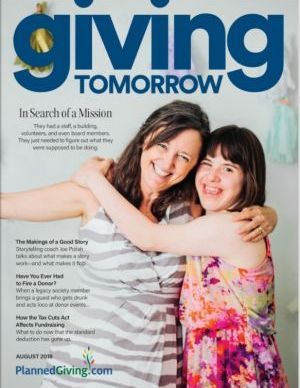 Giving Tomorrow Issue 2 2018