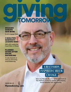 Giving Tomorrow Issue 20 2020