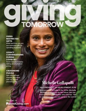 Giving Tomorrow Issue 22 2020