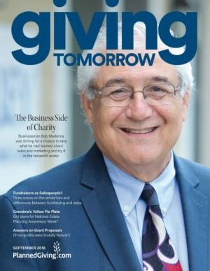 Giving Tomorrow Issue 3 2018