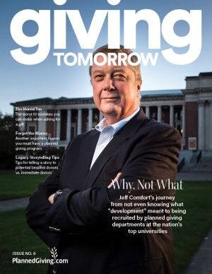 Giving Tomorrow Issue 6 2019