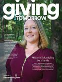 Giving Tomorrow Issue 9 Jessica Chapman