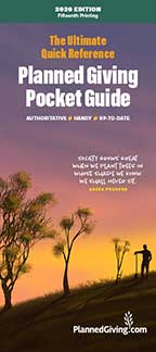 Ultimate Quick Reference Planned Giving Pocket Guide
