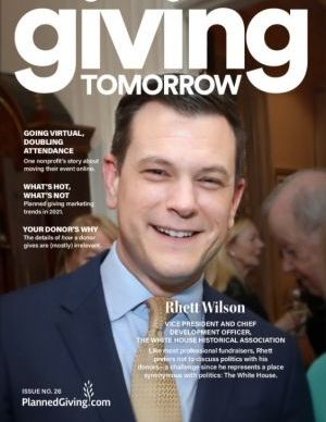 Giving Tomorrow Issue 26 2021