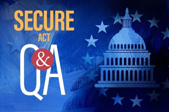 Secure Act Questions And Answers