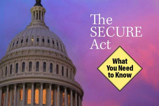 Secure Act -planned giving - all you need to know