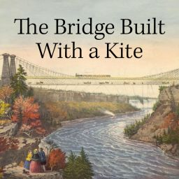 A Kite Starts First Suspension Bridge