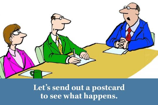 Lets Send Out A Planned Giving Postcard To See What Happens