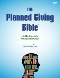 Planned Giving Bible Professional Gift Planners