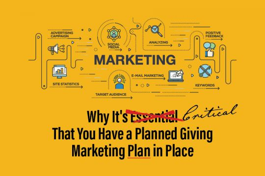 planned giving marketing plan in place