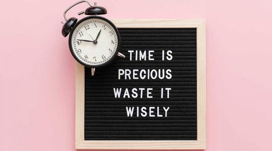 Time Is Precious. Waste it Wisely.