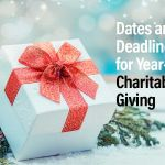 Tax-Year Deadlines for Charitable Giving